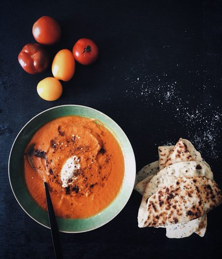 Basic Tomato Soup Using a Tin of Tomatoes
