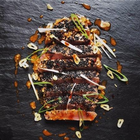 Sesame Seared Tuna Steak