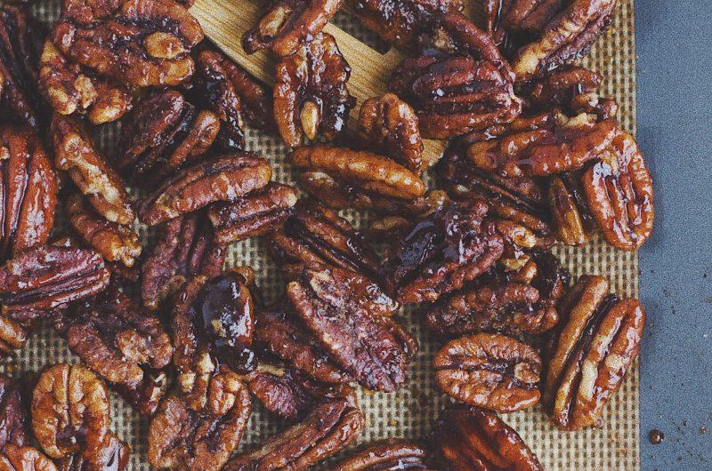 Maple Glazed Pecans