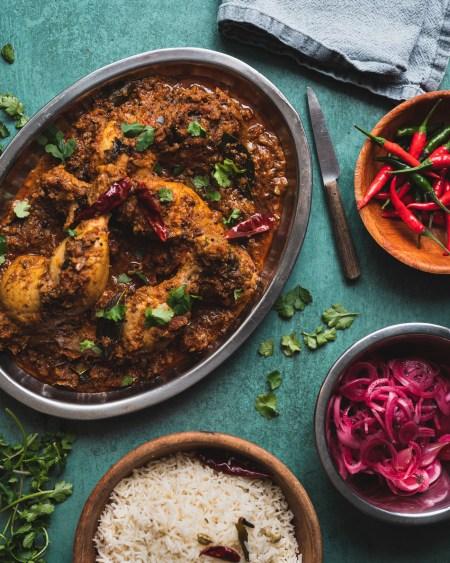 Chettinad Pepper Chicken Curry