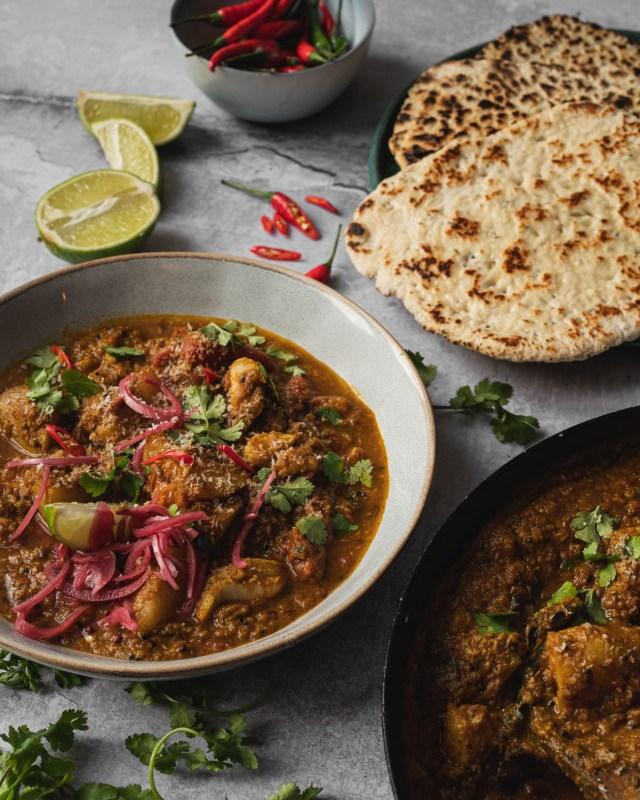 Bengali Style Fish Curry - Macher Johl - Panch Phoron