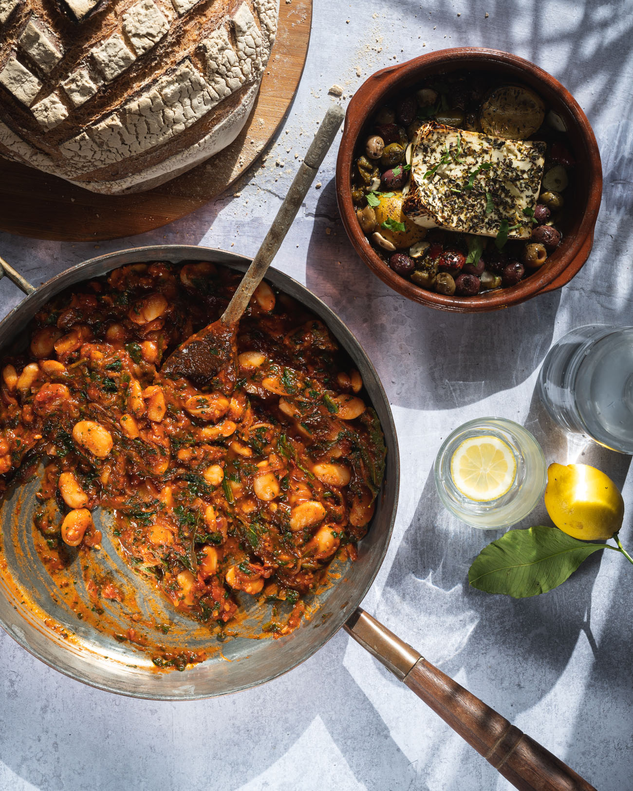 Greek Giant Beans – Gigandes Plaki