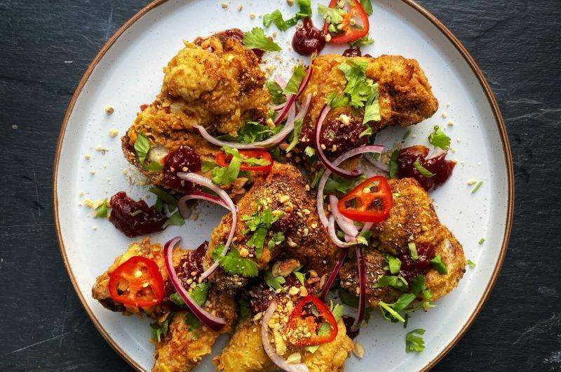 Ghati Masala Chicken Wings