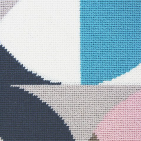 PomPom Design Contemporary needlepoint kit