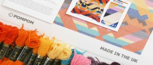 PomPom Needlepoint kit contents
