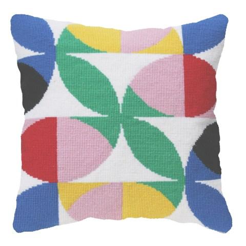 Flores 2 Cross Stitch Kit, by Pompom Design