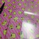 ハンドメイド☆ポムポムプリンバッグ3rd☆ミニプリンの布。