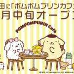 ポムポムプリンカフェ☆特報★ポムポムプリンカフェ2号店続報!?