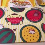ポムポムプリンカフェ☆原宿☆夏バージョンランチョンマット&コースター