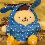 ポムポムプリンカフェ☆雨の日限定雨合羽マスコット完売中です。