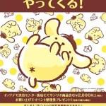 ポムポムプリン☆ITS'DEMO(イッツデモ)☆渋谷センター街店でポムポムプリン来店イベント5/4