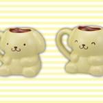 ポムポムプリン☆プライズ☆ポムポムプリンプレミアムキャラ型マグカップ☆セガの5月新商品