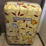 ポムポムプリン☆香港☆春頃に販売していたスーツケース