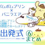 ポムポムプリン☆バニラエア×ポムポムプリン奄美群島出発式⑥まとめ