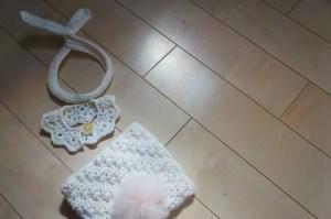 ニューボーンフォトに最適の新生児用オムツカバー