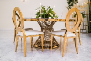 Matrix Table and Dior Chairs