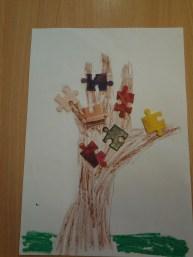 Drzewa z puzzli