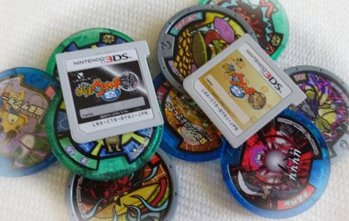 3DSとメダル