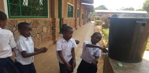 Healthy school and hand washing facilities