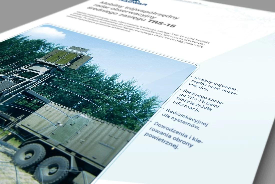 Projekt broszury produktowej