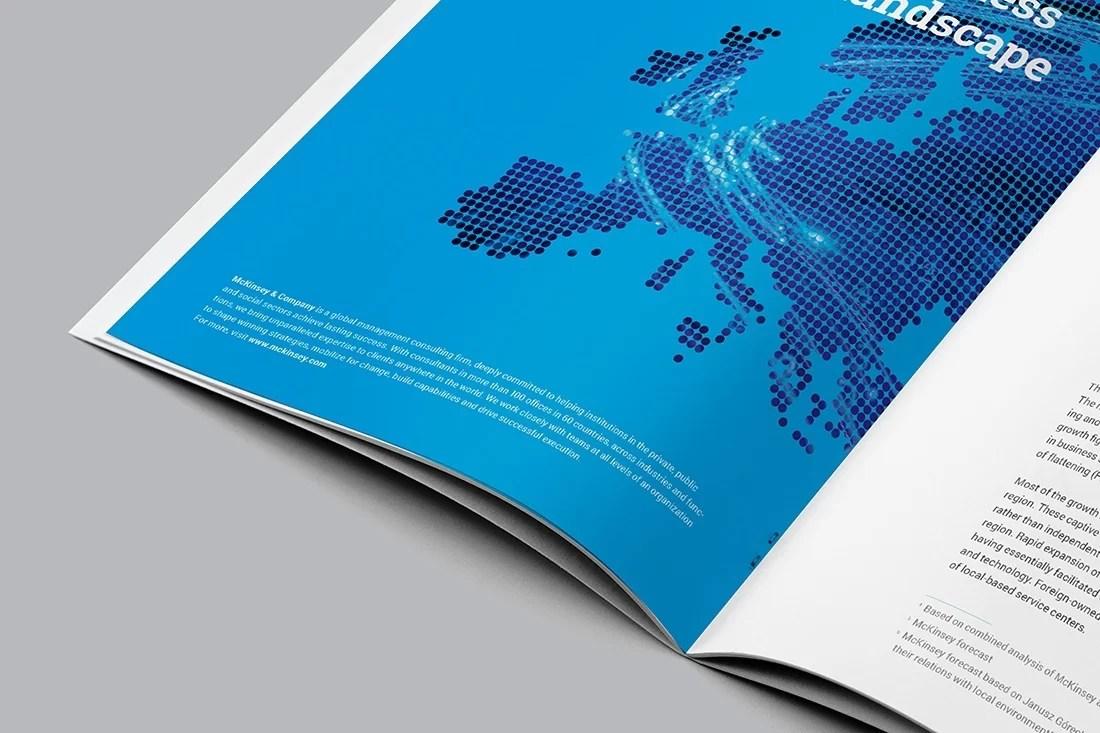 Raport CEE projekty stron przekładkowych
