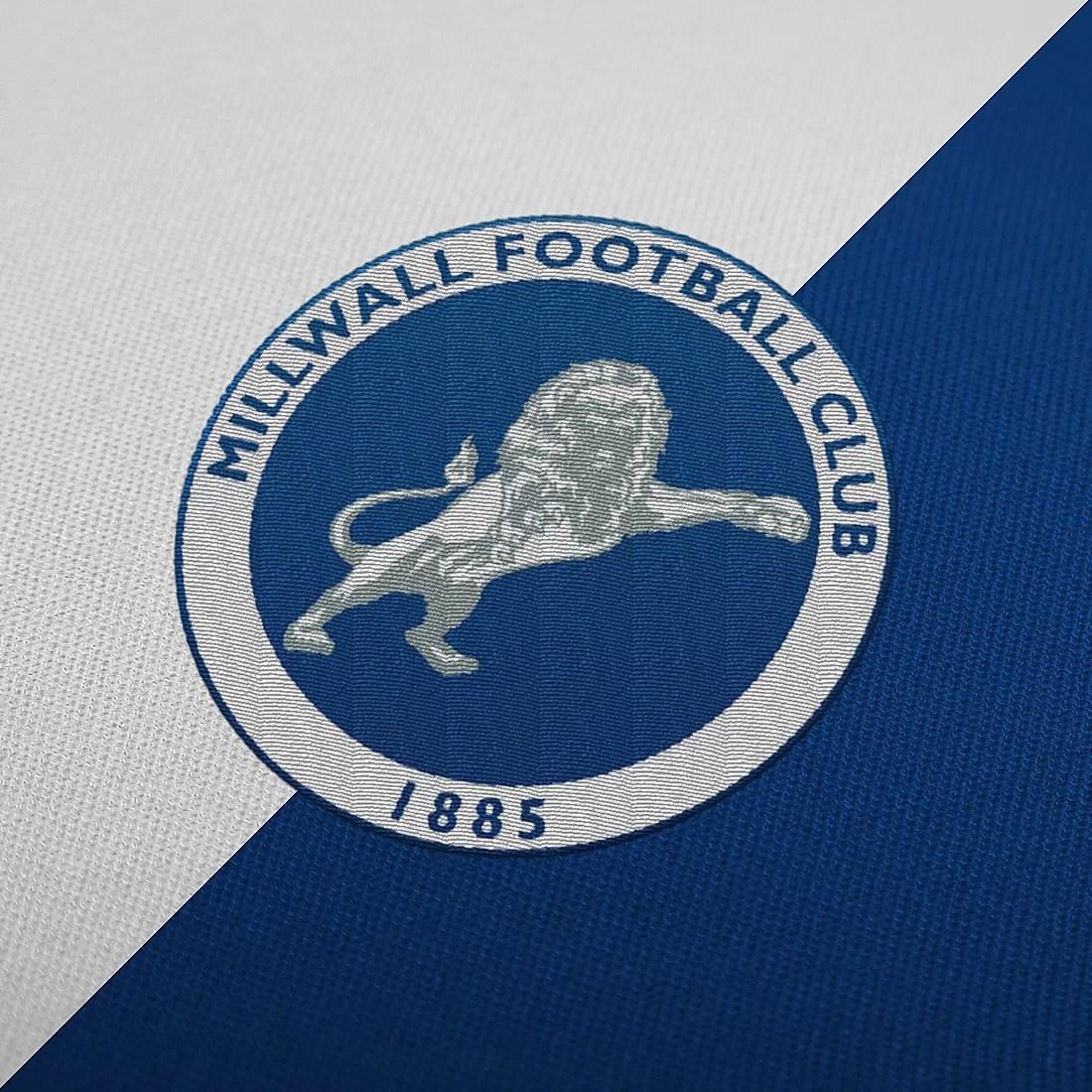 Stroje piłkarskie Millwall embroidered logo