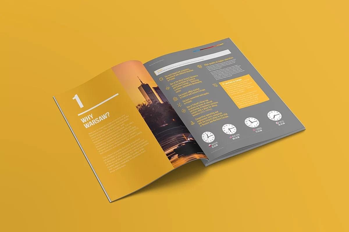 Grafika raport projekt graficzny