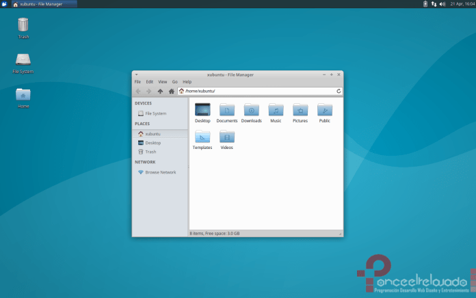 Xubuntu Screenshot
