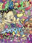 【MAMESUKE実績】Happy Birthday イラスト制作