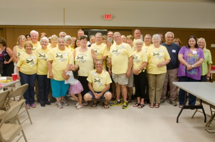 Owners, Guests and Pond Members, all in yellow...