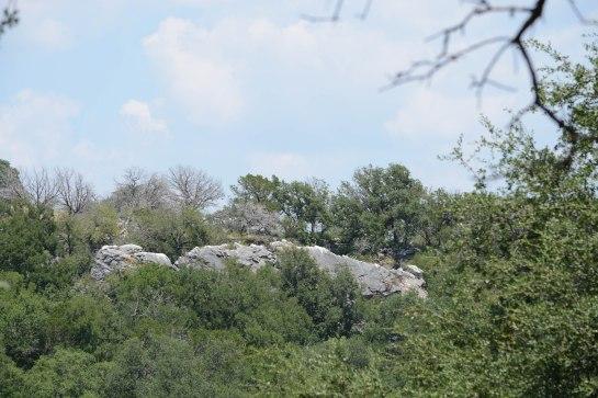 Interesting rock formation