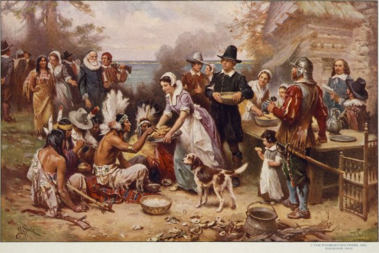 First-Thanksgiving