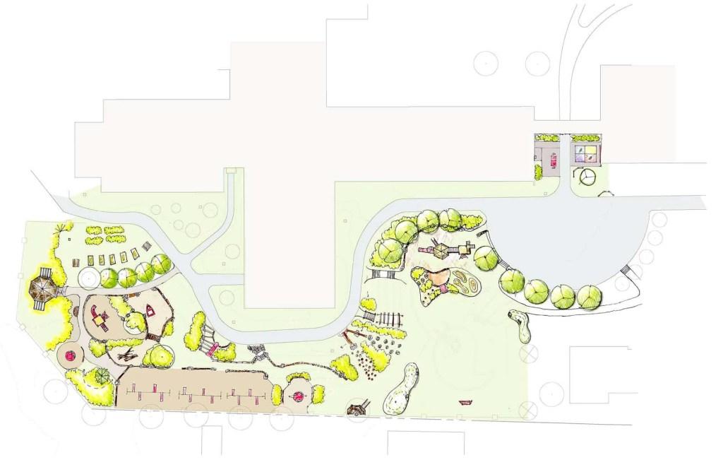 Pond Cove Playground Plans