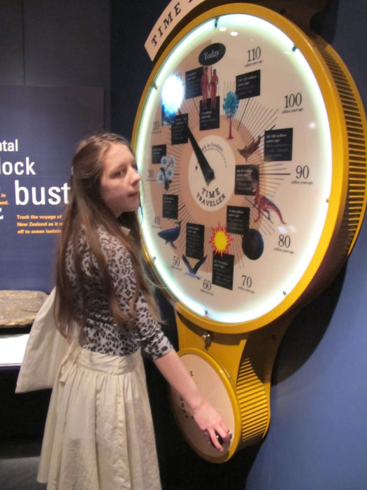 Time Traveller Clock at Te Papa Museum
