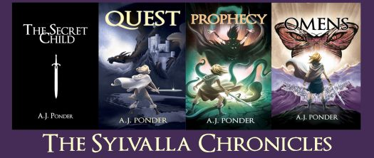 The Sylvalla Chronicles, with FREE prequel short story The Secret Child, and Quest, Prophecy and Omens.