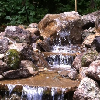 boulder fall