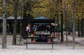 Children's toys at Le Jardin du Luxembourg. © Violet Acevedo