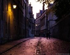 Brasenose Lane at sunset. © Violet Acevedo