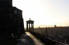 The Dugald Stewart Monument on Calton Hill. © Violet Acevedo