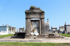 Some tombs in Greenwood Cemetery have fallen into disrepair. © Violet Acevedo