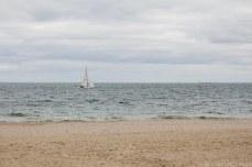Sailing in Port Philip Bay. © Violet Acevedo