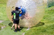 The company insisted on taking pictures of people the moment the zorb settled. © Violet Acevedo