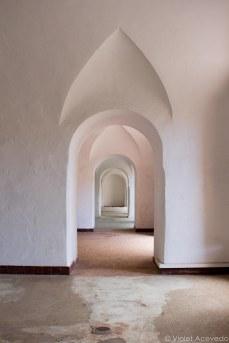 The former soldiers' quarters. © Violet Acevedo