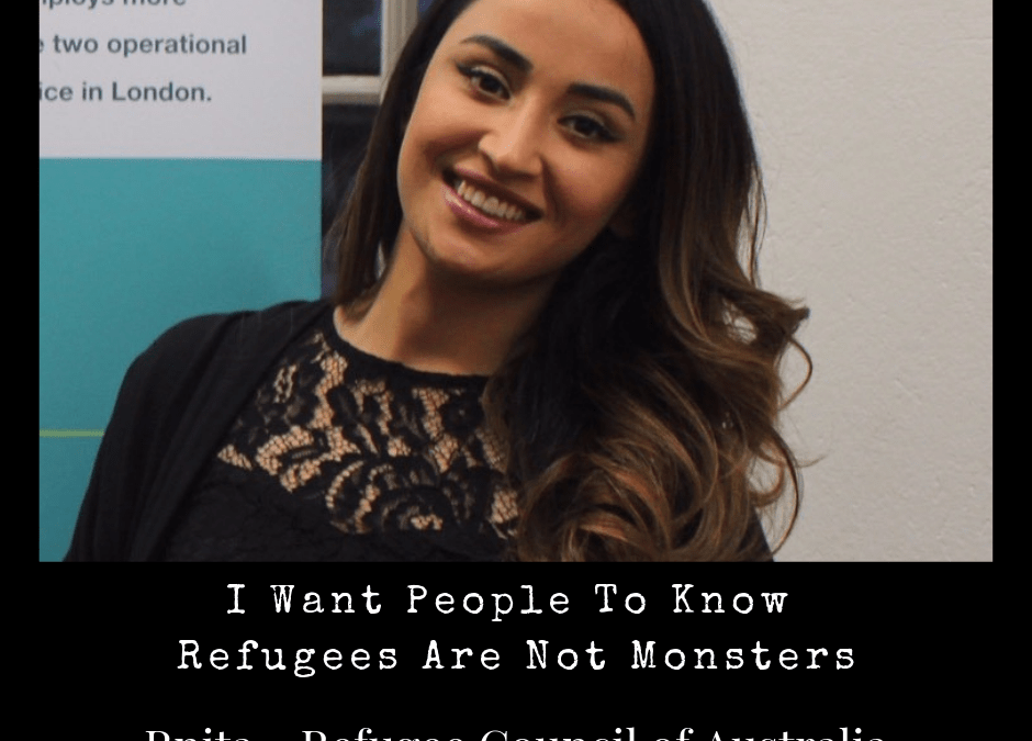 I Want People To Know Refugees Aren't Monsters