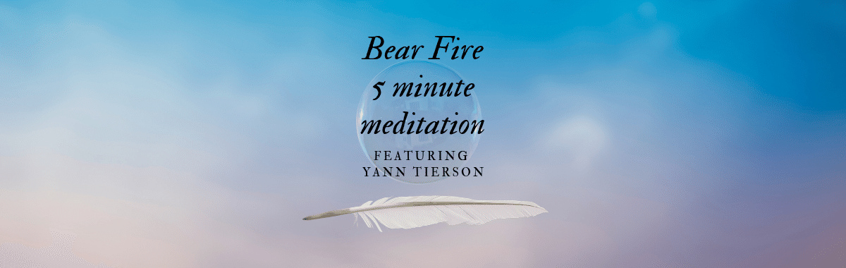 Bear Fire 5 Minute Meditation Ponderings Magazine