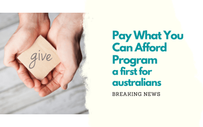 Pay What You Can Afford Program a First For Australia