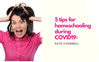 Five Tips For Homeschooling
