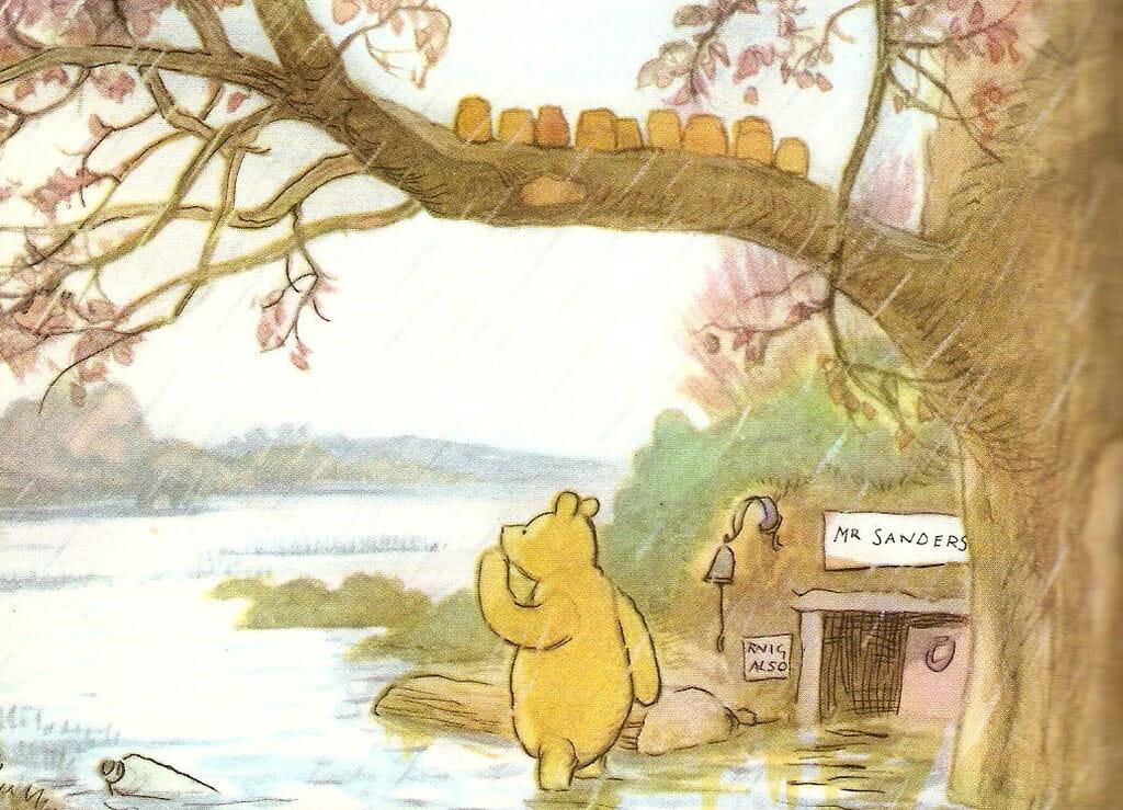 EH Shepard Pooh Bear Ponderings Magazine