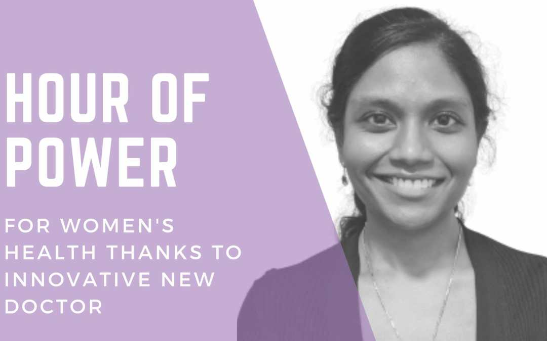 Hour of Power For Women's Health Thanks To Innovative Doctor