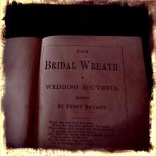 Book, The Bridal Wreath